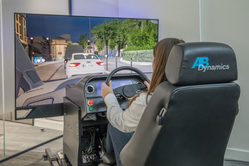 AB Dynamics driving simulator