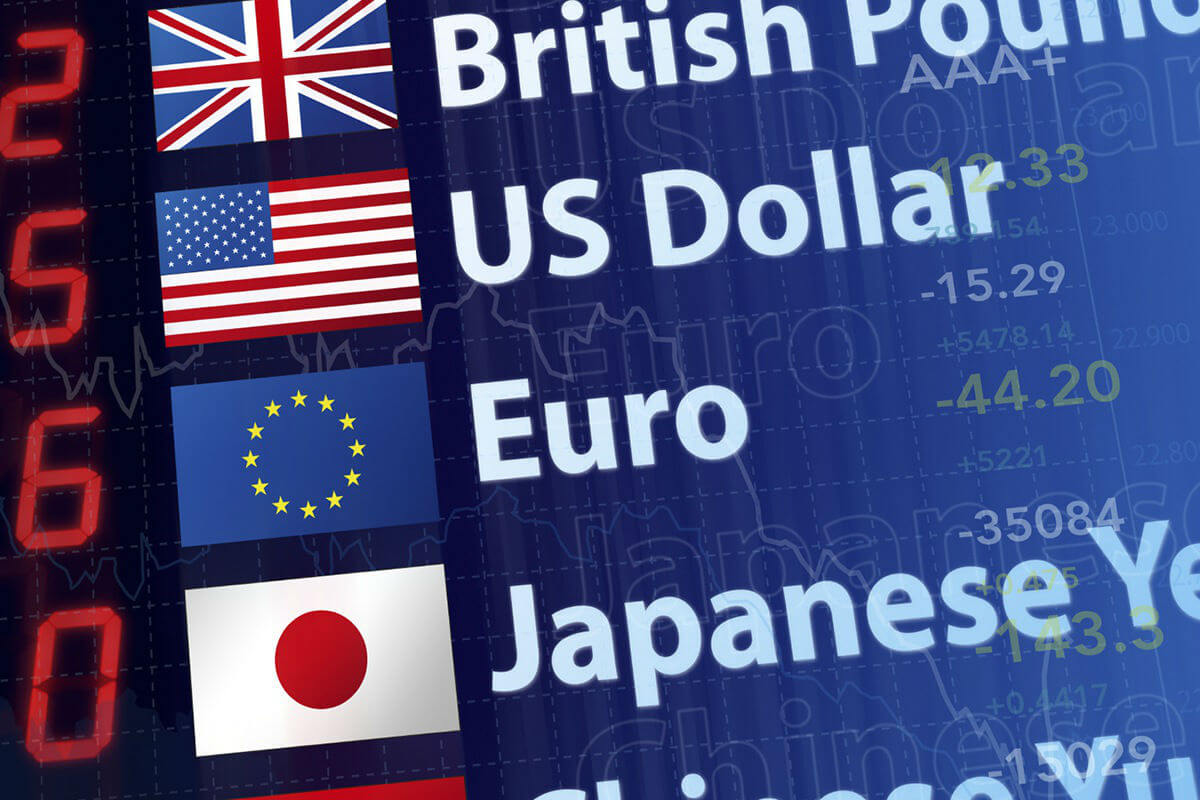 Foreign currency rates trading