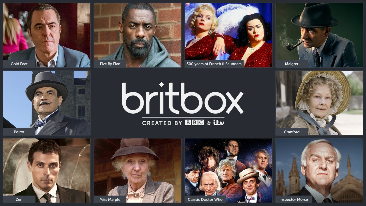 Britbox home page image
