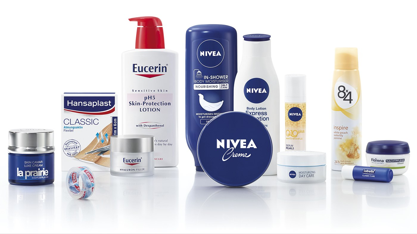 Nivea and other Beiersorf brands