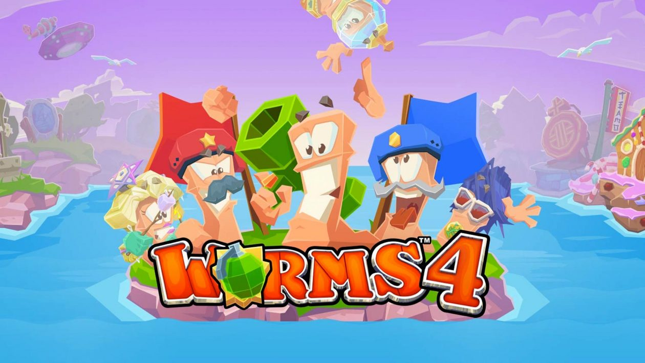 Team17 Worms 4 game banner